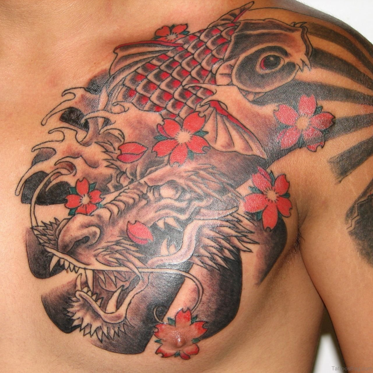 69 Cool Chest Tattoos