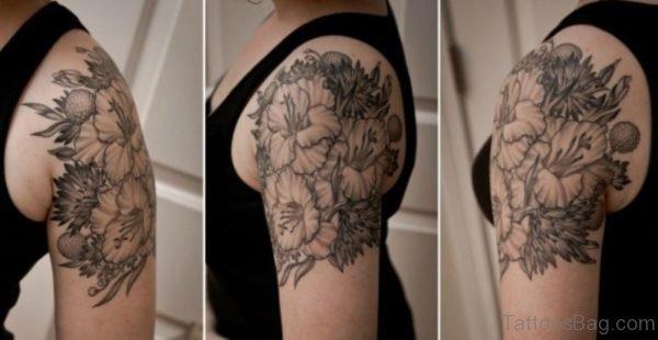 Floral Tattoo Design