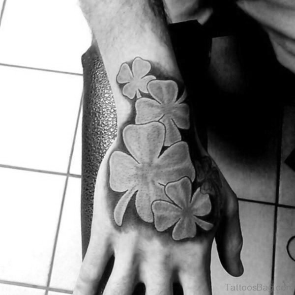 Four Leaf Clovers Tattoo