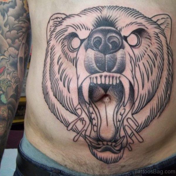 Fox Face Tattoo Design