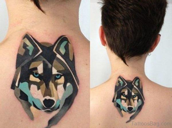 Fox Nape Tattoo