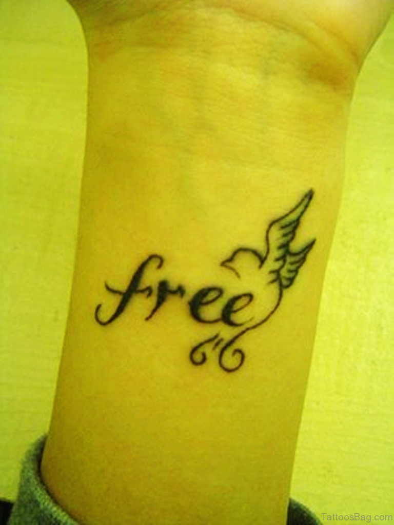 10 free lettering tattoos on wrist