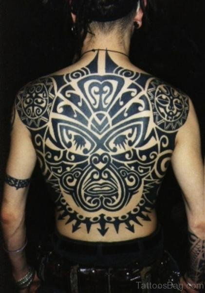 Full Back Maori Tattoo