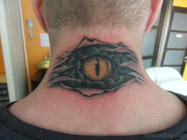 Funky Eye Tattoo