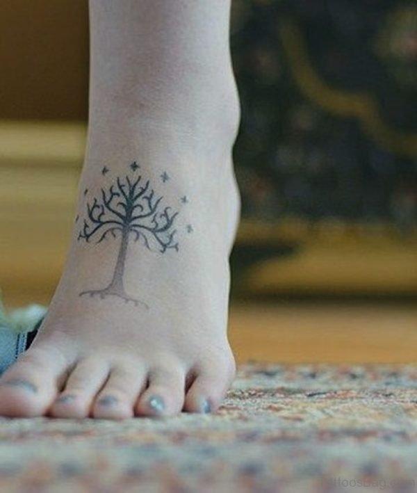 Funky Tree Tattoo