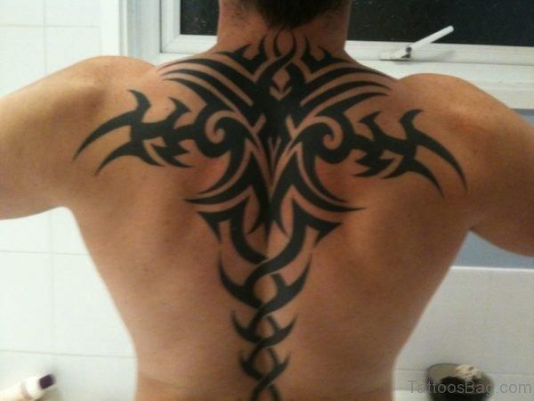 Funky Tribal Tattoo