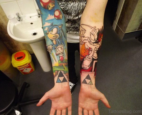 Funny Arms Tattoos