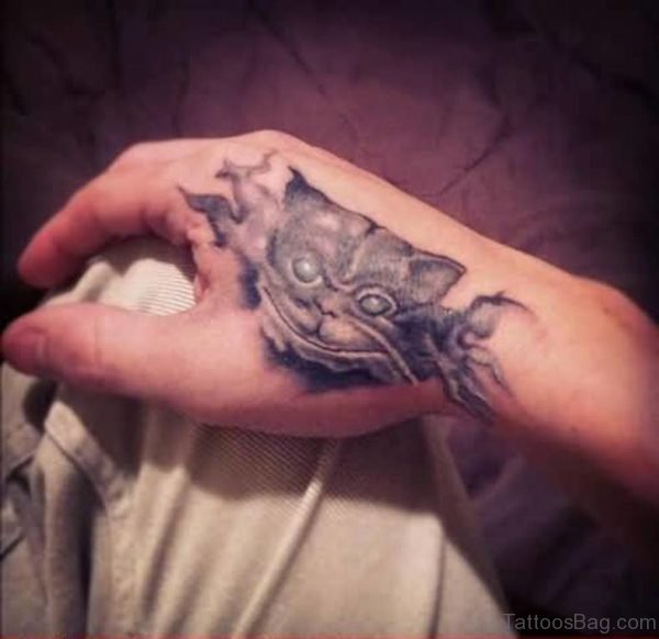Funny Cat Tattoo