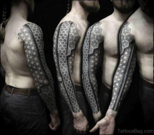 Cool Full Sleeve Tattoo