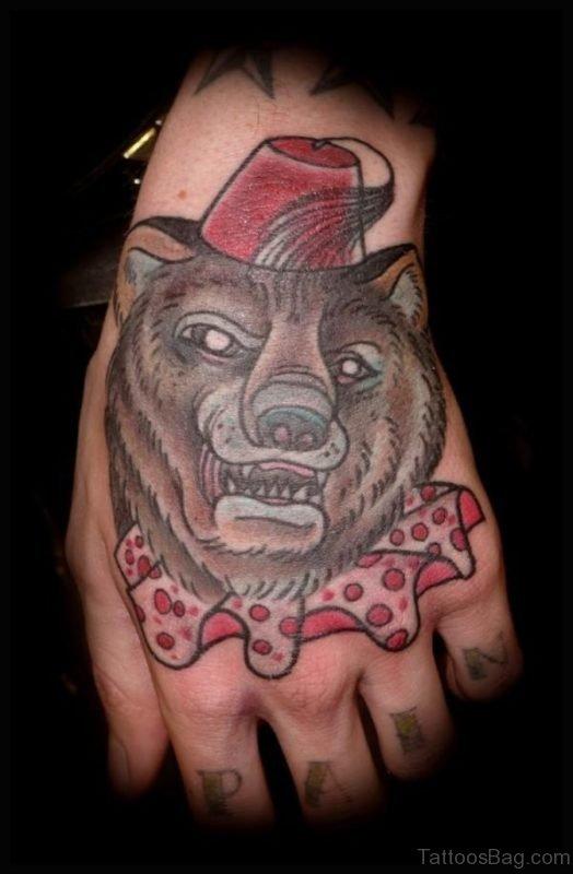 Fuuny Bear Tattoo