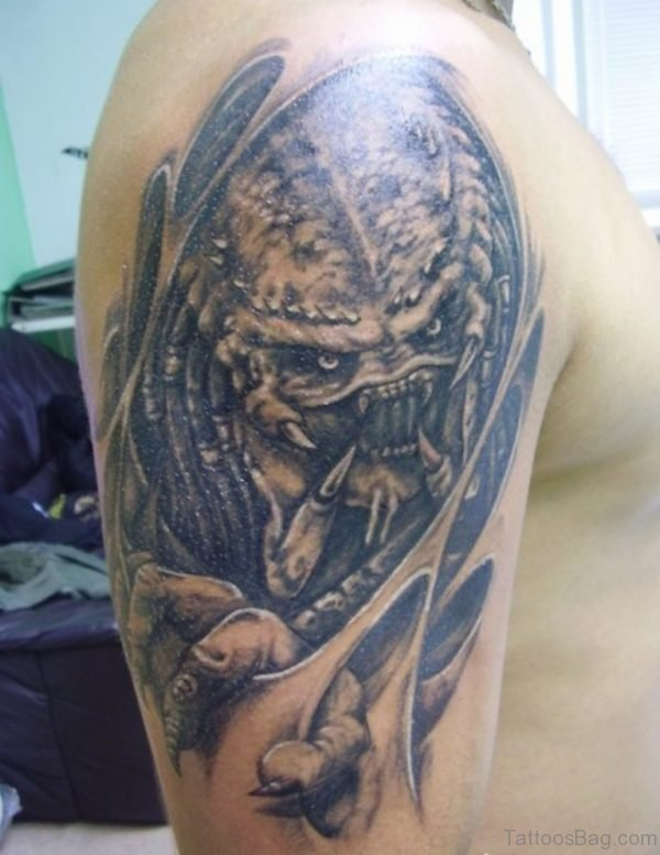 Good Alien Tattoo