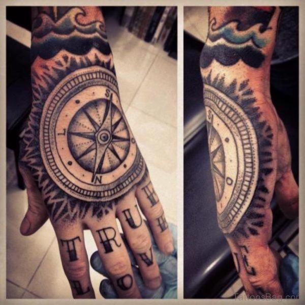 Good Compass Tattoo