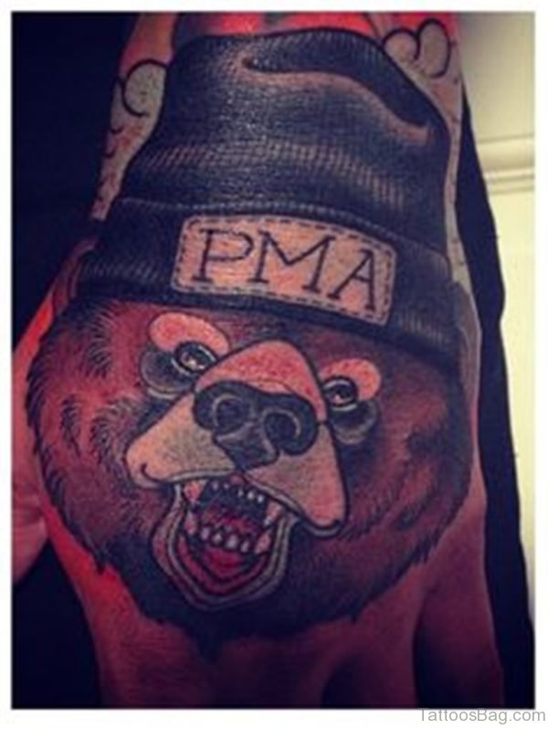 Good Looking Bear Tattoo