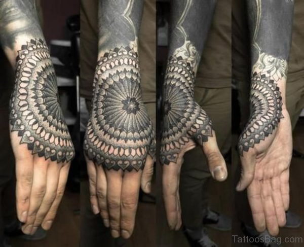 Good Looking Mandala Tattoo