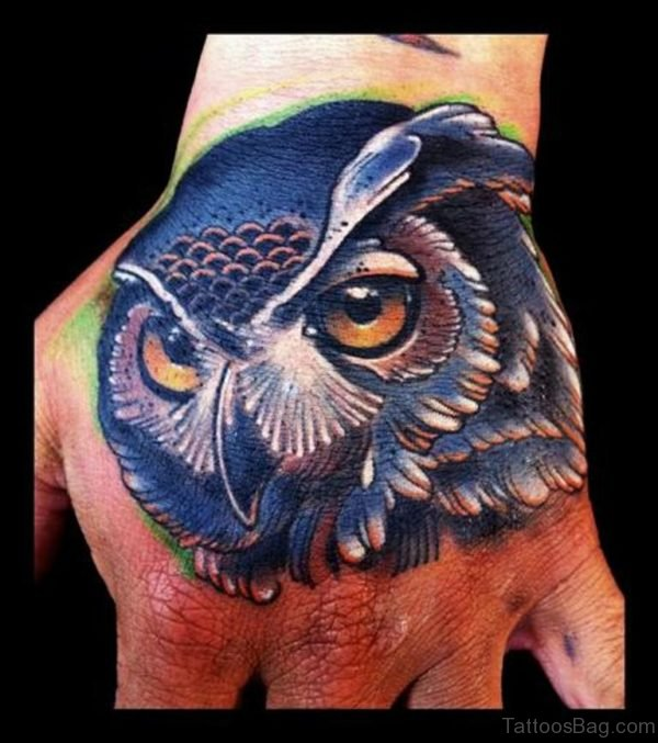 Good Looking Owl Tattoo