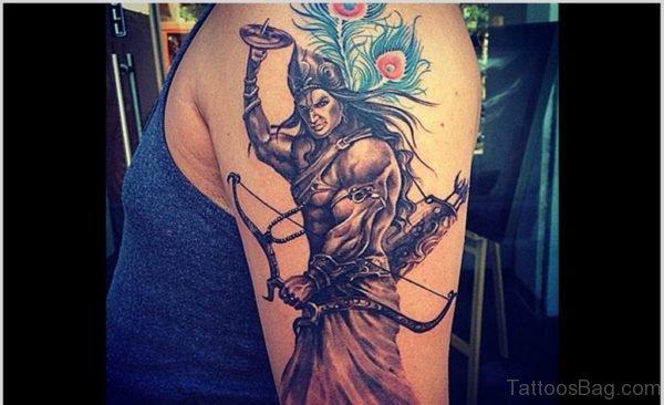 Good Looking Shiva Tattoo