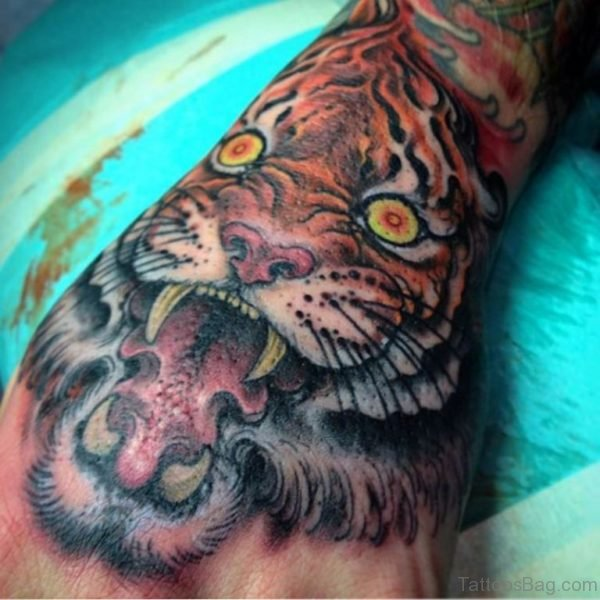 Good Looking Tiger Tattoo