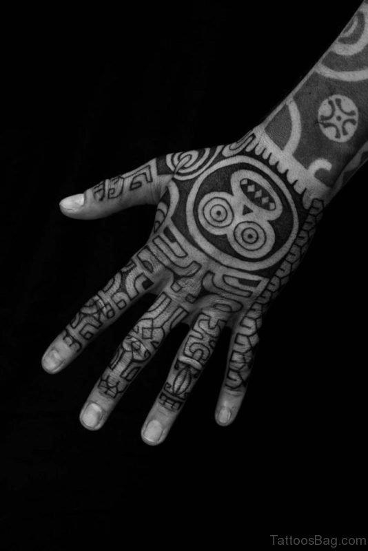 Good Tribal Tattoo Design
