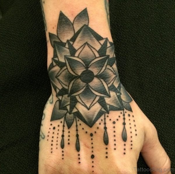 Gorgeous Mandala Tattoo On Hand