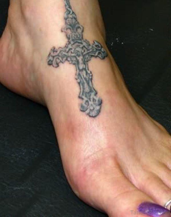 Graceful Rosary Tattoo