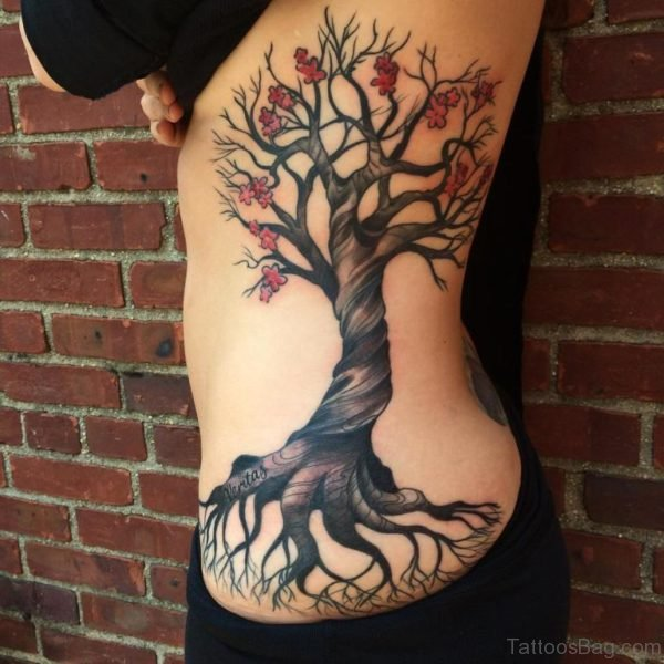 Graceful Tree Tattoo