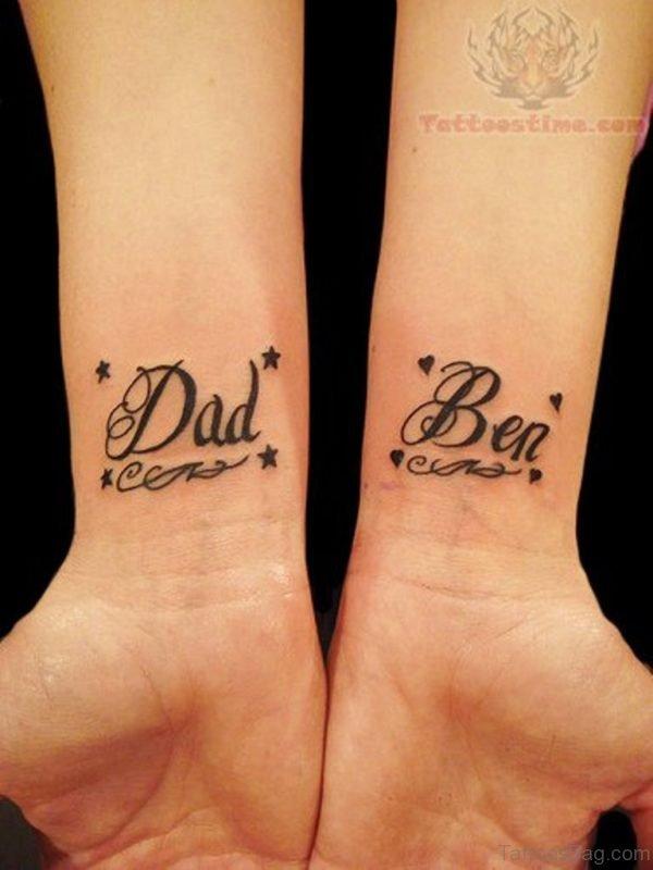 Graceful Word Tattoo On Wrist