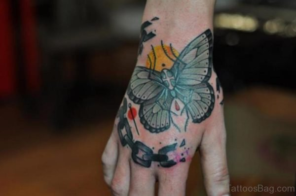 Great Butterfly Tattoo