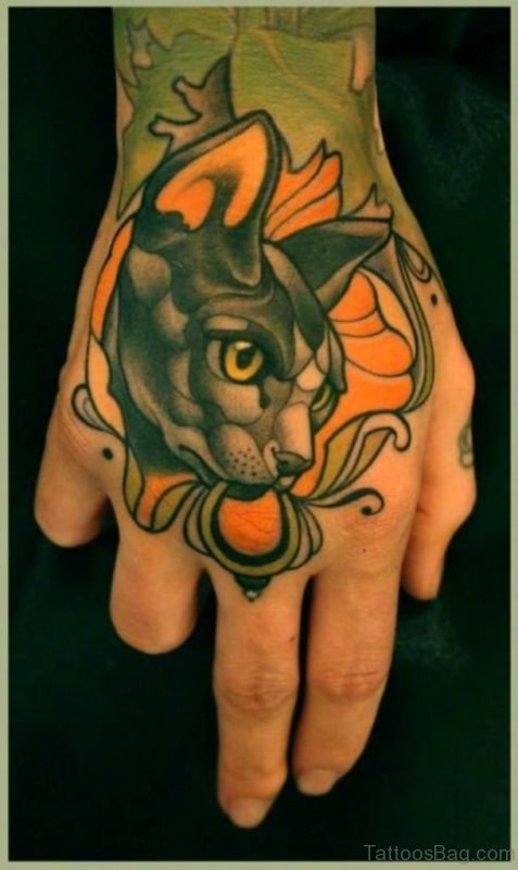 Great Cat Tattoo