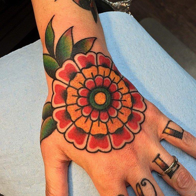 Plant Tattoo Men