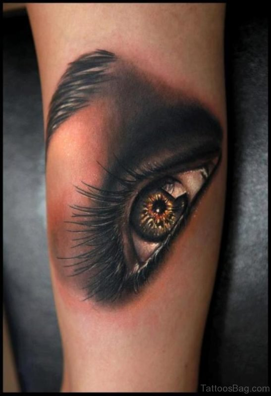 Great Looking Eye Tattoo