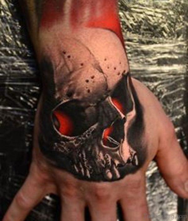 Great Looking Skull Tattoo
