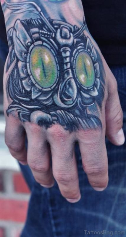 Great Owl Tattoo