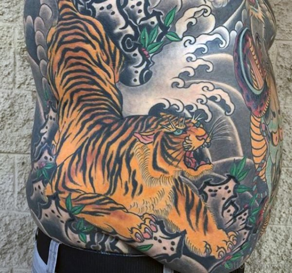 Great Tiger Tattoo Design