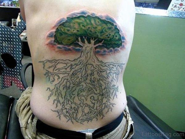 Green Tree Tattoo