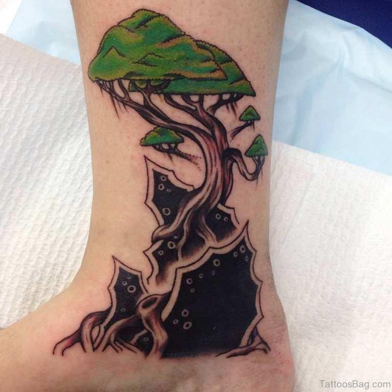 foto de 93 Best Tree Tattoos For Leg