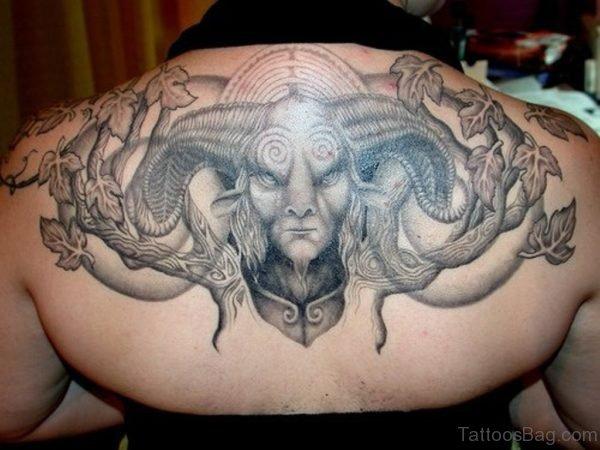 Grey Monster Tattoo