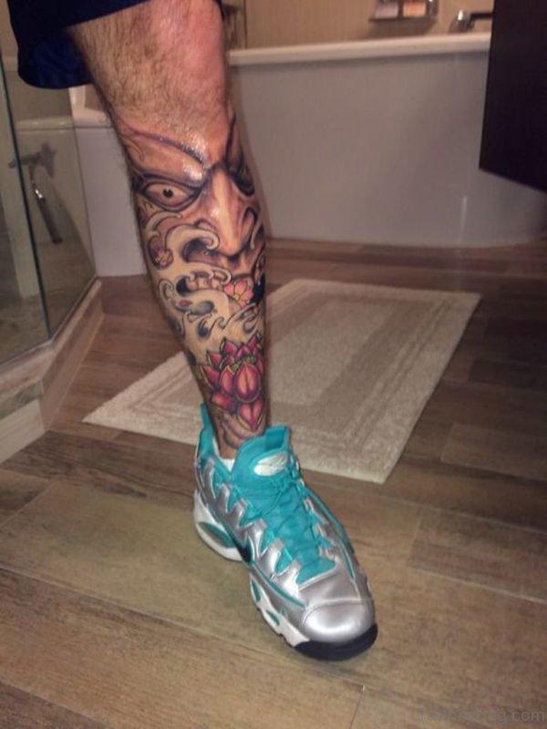 Hannya Mask Tattoo