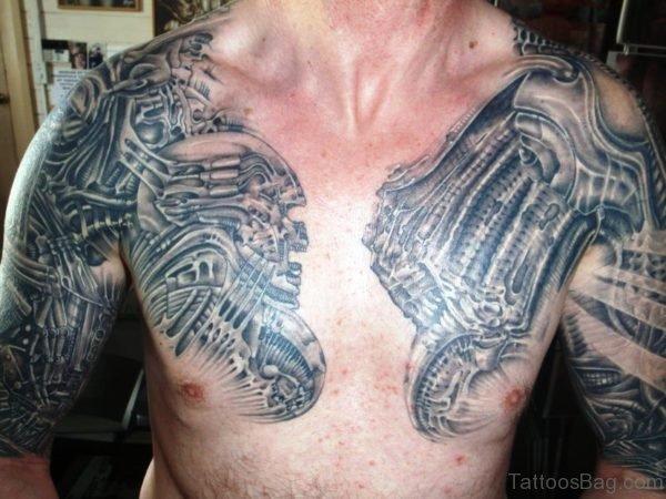 Hawaiian Tattoo On Chest