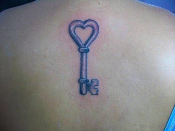 Heart Key Tattoo