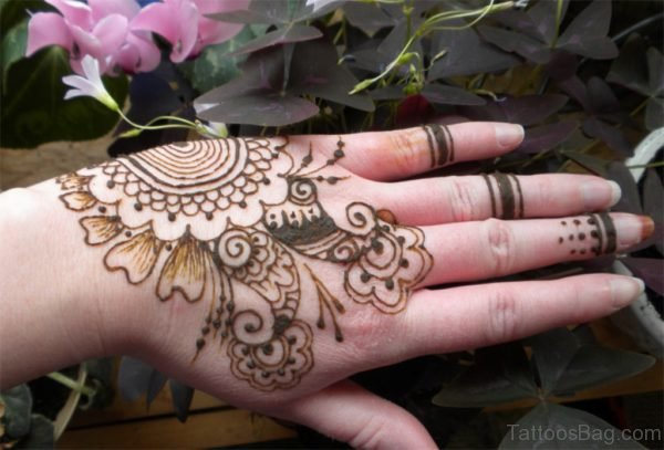Henna Mandala Tattoo