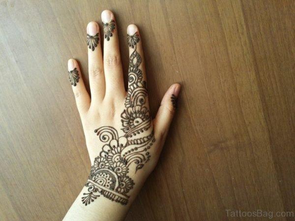 Henna Tribal Tattoo