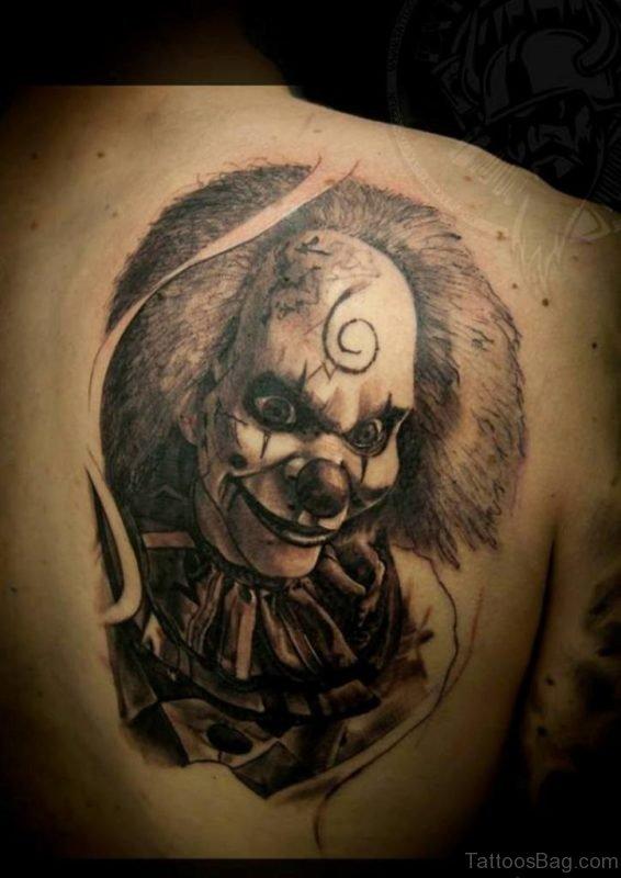 Horror Tattoo On Full Back