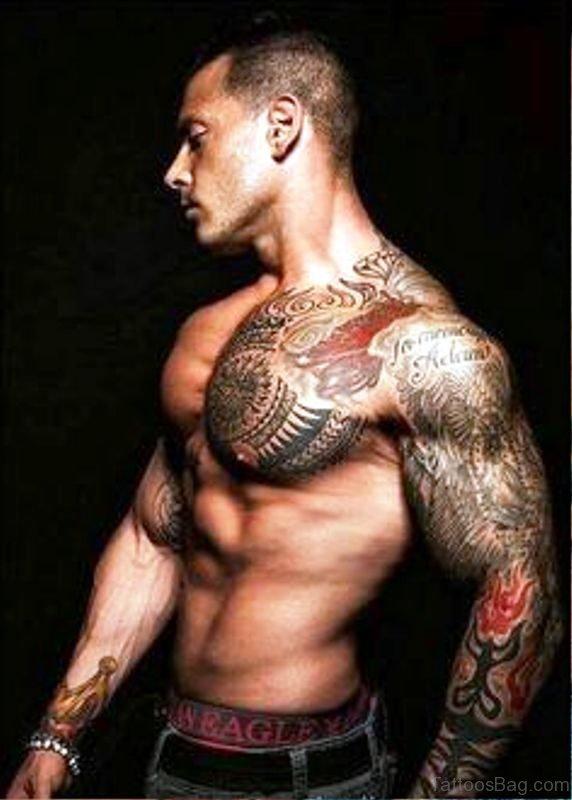 Image Of Tattoo On Shoulder