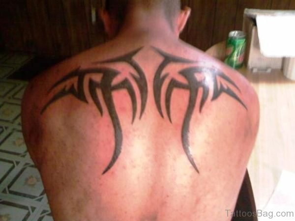 Image Of Tribal Tattoo On Back