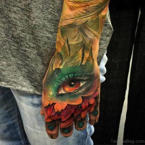 Impressive Eye Tattoo