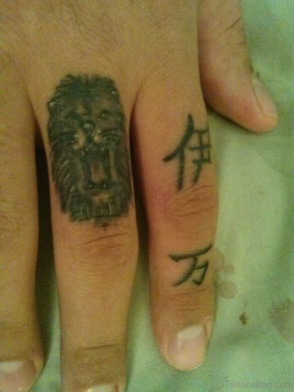 Impressive Lion Head Tattoo