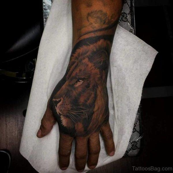Impressive Lion Tattoo