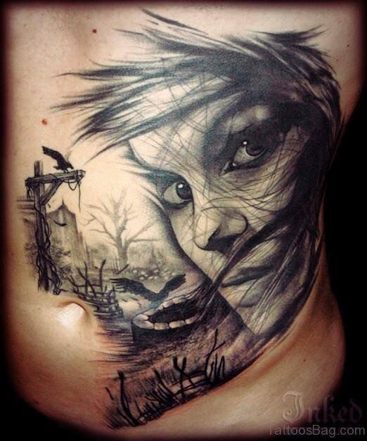 Impressive Rib Tattoo
