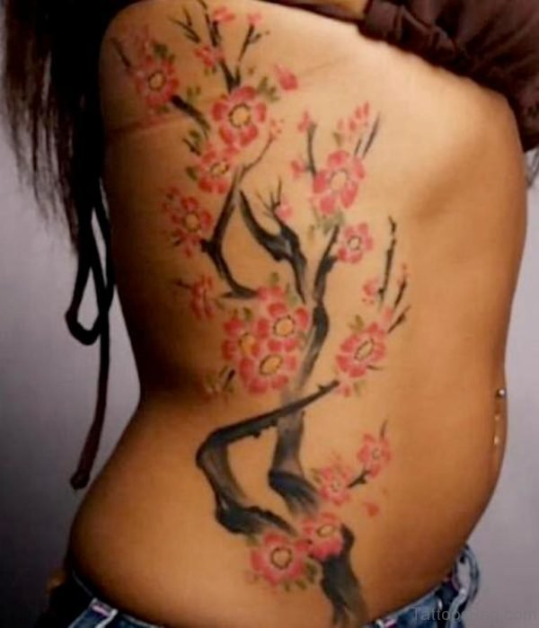 Ive Tree Tattoo