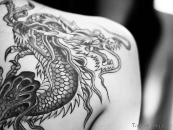 Japanese Tattoo On Shoulder